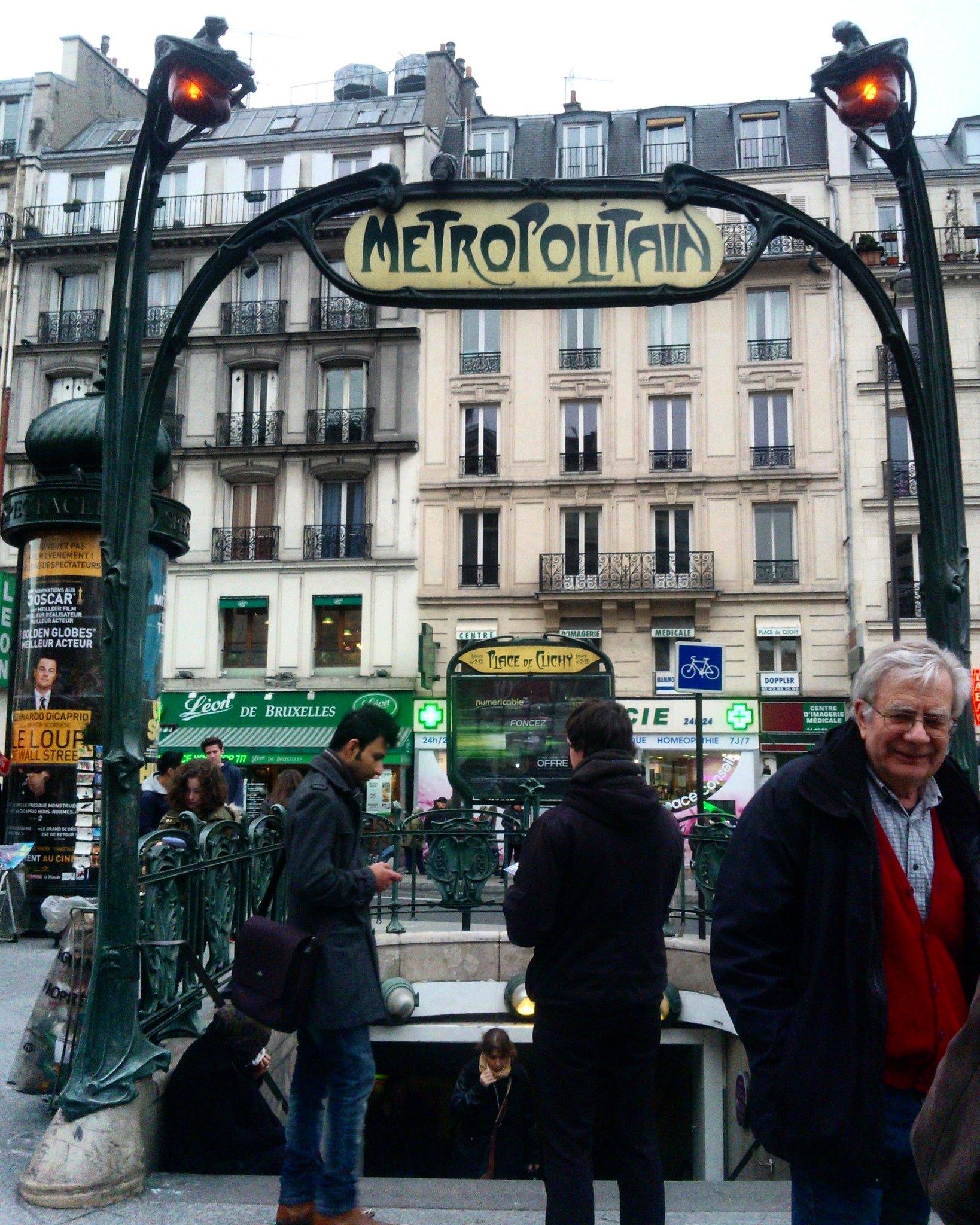 Metropolitain Parigina