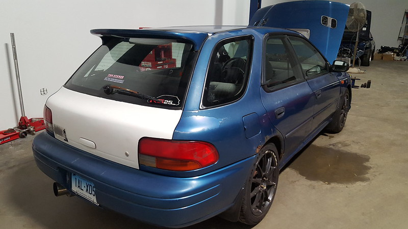 Fs Usa Ct 97 Impreza Wagon W 02 Wrx Swap Sleeper