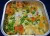 M&S Fish and Chip Tray Bake