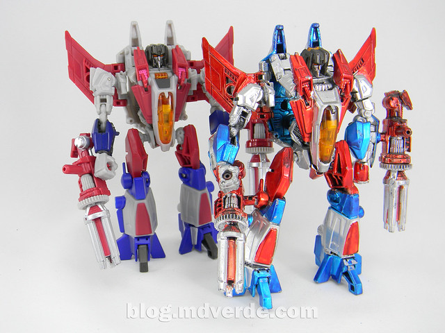 Transformers Starscream Deluxe - Generations Fall of Cybertron Custom - modo robot