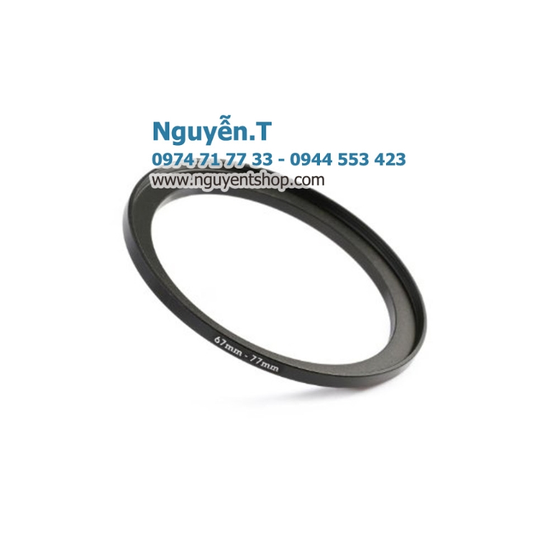 Step up ring 67mm - 77mm