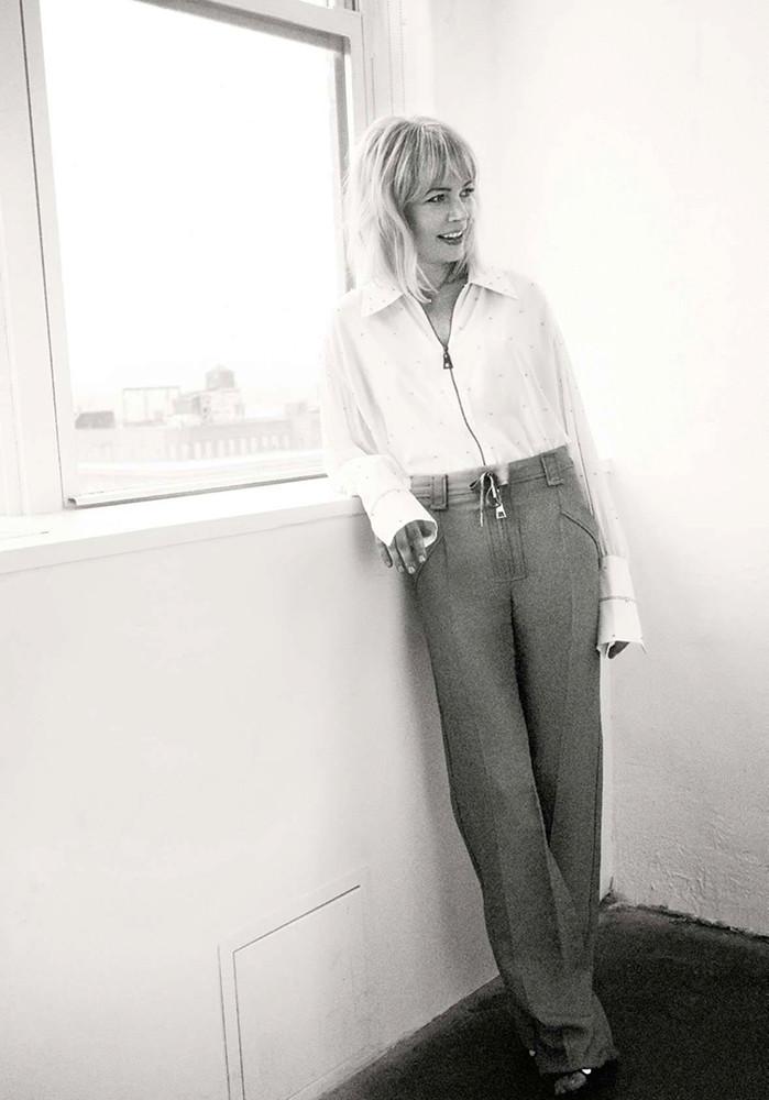 Мишель Уильямс — Фотосессия для «Elle» FR 2015 – 1