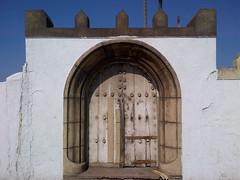 Gate to Ain Diab Beach