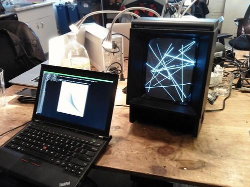 Modem manager induced glitch art