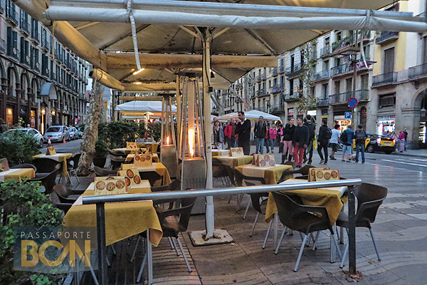 restaurantes em Las Ramblas