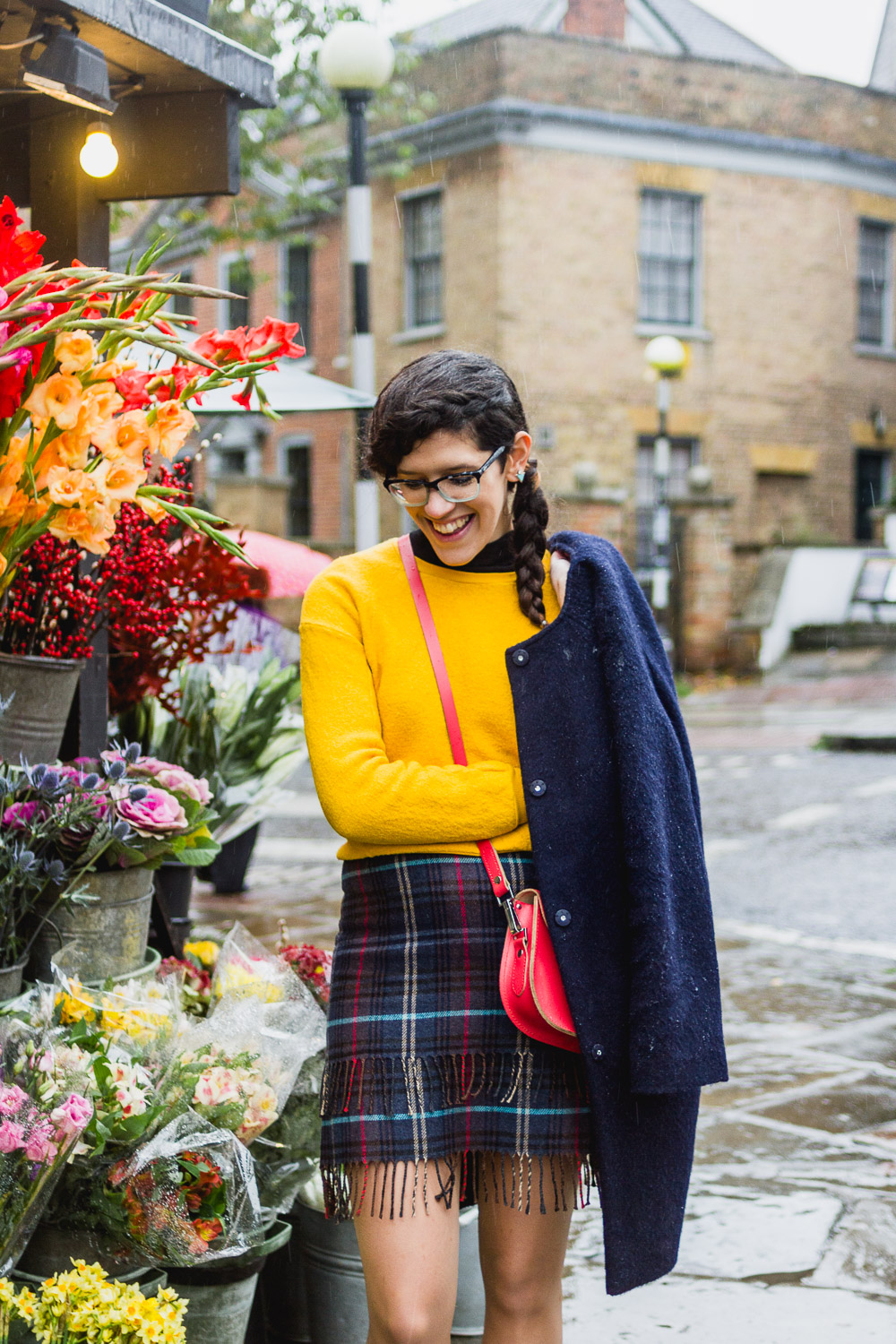 bright yellow jumper for autumn