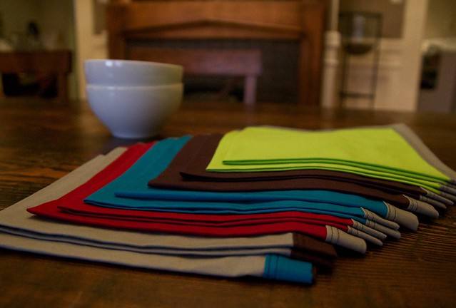 pile of 10 napkins