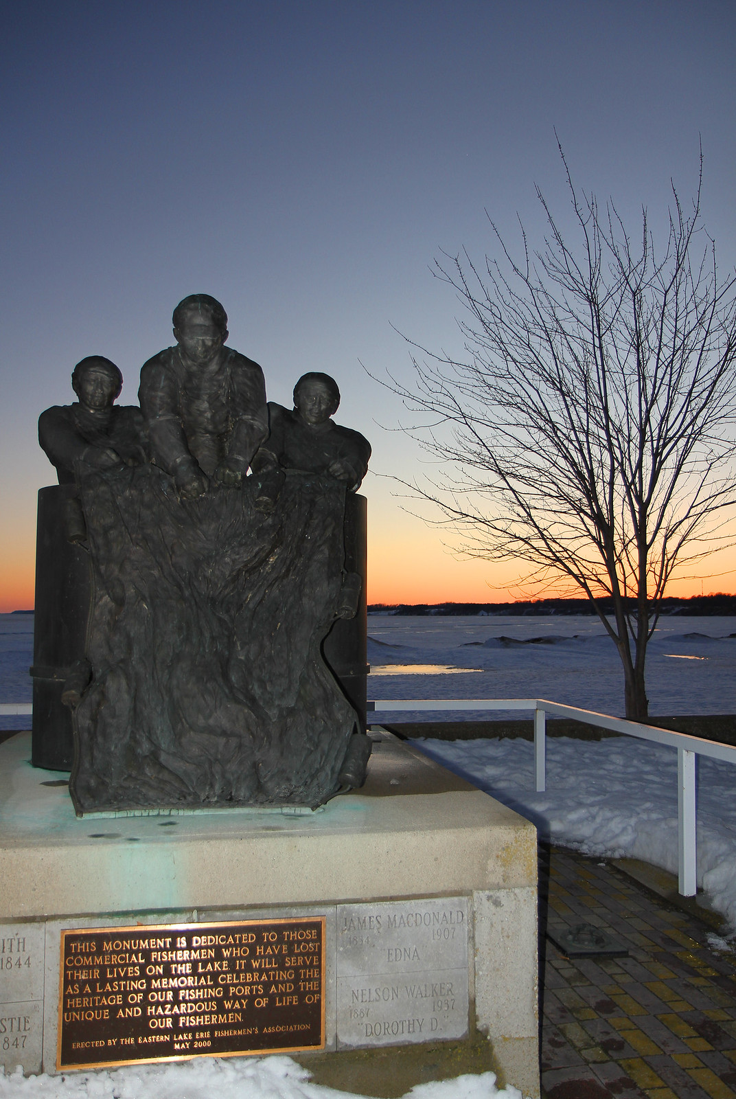 PD Fisherman Monument