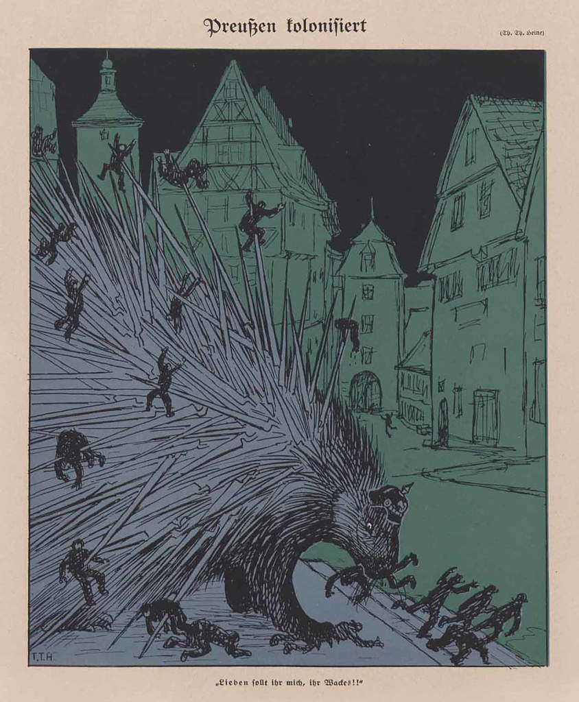 Thomas Theodor Heine - Prussia Colonized, 1913