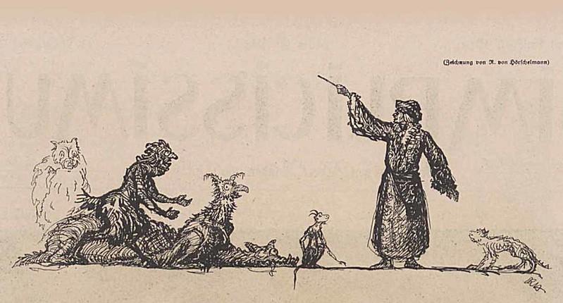 Rolf von Hoerschelmann - Untitled, 1919