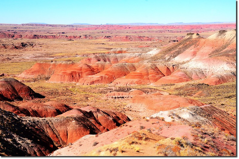 Painted Desert From Nizhoni Point