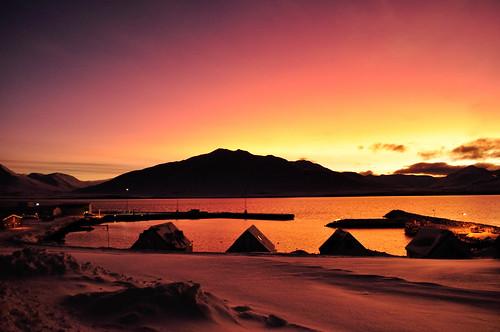 mountain snow tourism iceland vinter sunny hrísey bjerg krossahnjúkur sólarfjall