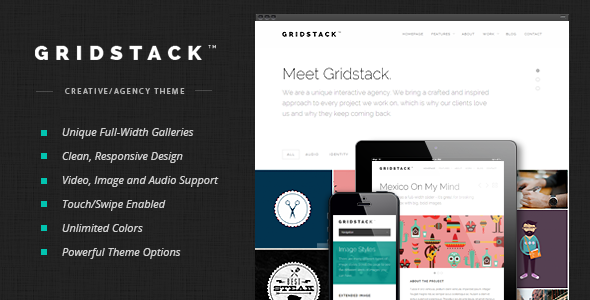 GridStack v1.3.4 - Responsive Agency WordPress Theme