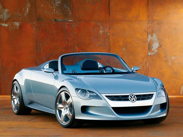Volkswagen Concept-R. 2003 год
