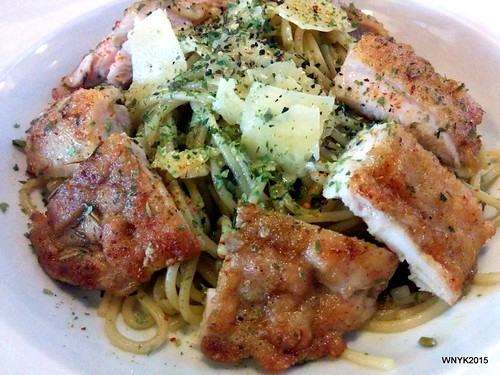 Pasta with Pesto Chicken