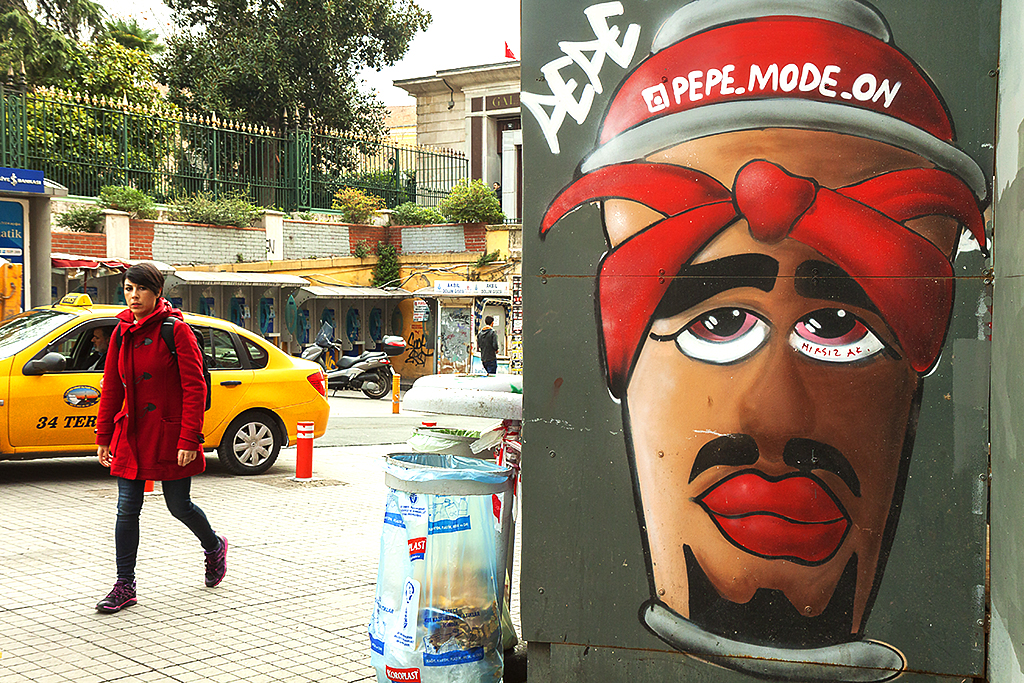 Depiction of 2Pac--Istanbul