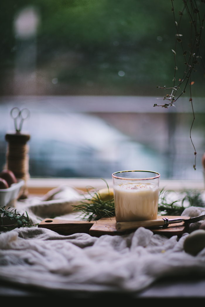 Tequila Citrus Eggnog by Eva Kosmas Flores | Adventures in Cooking