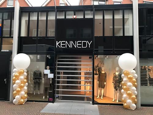 Ballonpilaar Breed Rond Kennedy Mode Spijkenisse