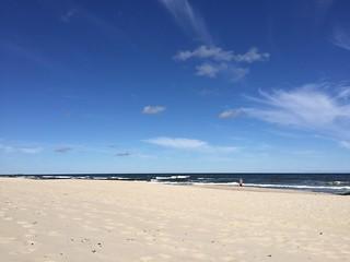 Plaża Chałupy wejście nr 8 4115 미터의 길이와 해변 의 이미지.