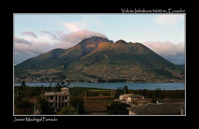 Volcán Taita Imbabura.