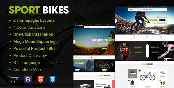 Sportbike v1.0.1 – Premium Responsive OpenCart Theme