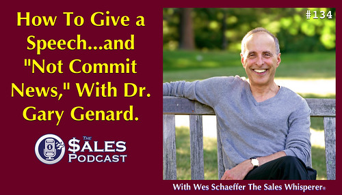 Get paid to deliver a keynote talk and grow your professional speaking business with Dr Gary Genard.
