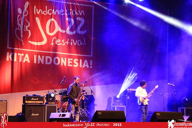 Indonesian Jazz Festival 2015 - ABG trio(1)