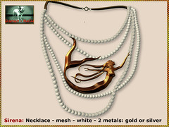 Bliensen - Sirena - Necklace - white