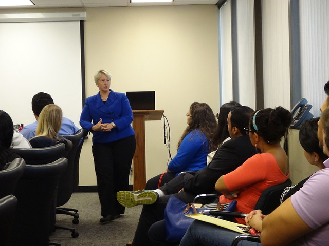 2015 Mayor Annise Parker Visits GCSW