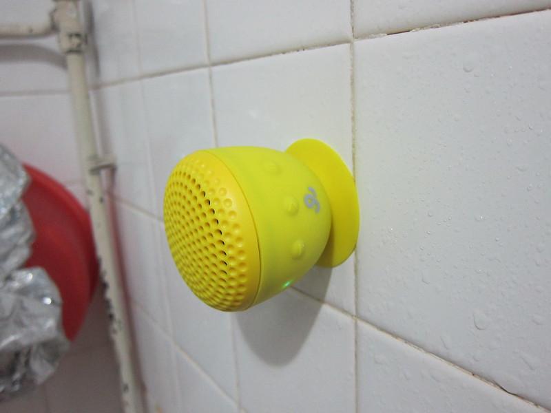 GoGear Splash n Dash Bluetooth Speaker - Suction Cup