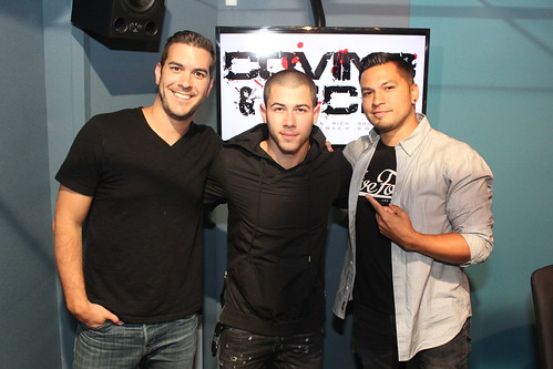 Nick Jonas on the Covino & Rich Show