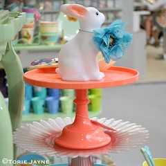 Neon Cake stand from Rice DK
