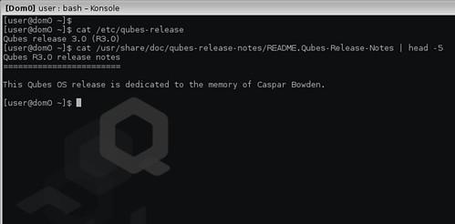 Qubes OS 3.0