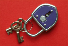 Blue lock me to two keys,
