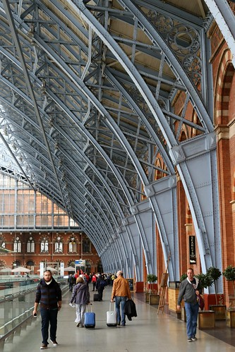 Arrival at St Pancras