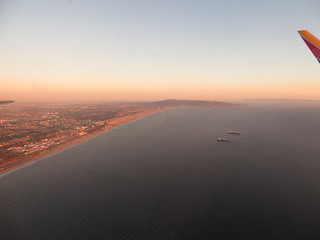 Image of Dockweiler State Beach near El Segundo. laxrno