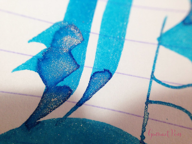 Ink Shot Review Diamine Blue Lightning (9)
