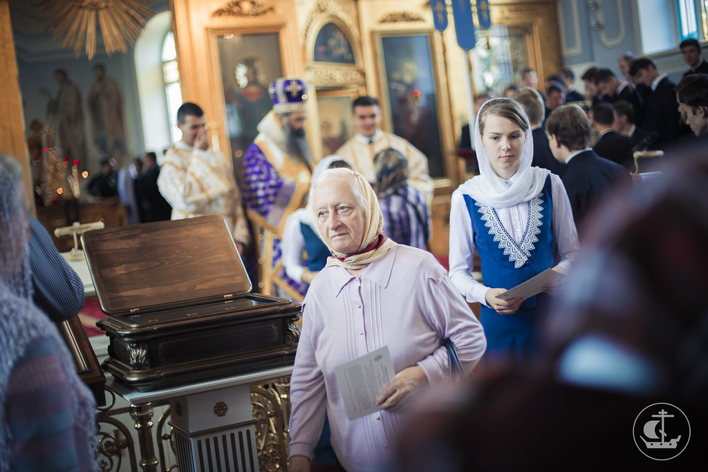 27 сентября 2015, Воздвижение Честного и Животворящего Креста Господня / 27 September 2015, The Universal Exaltation of the Precious and Life-giving Cross