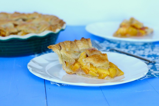 Peach Vanilla Bean Pie