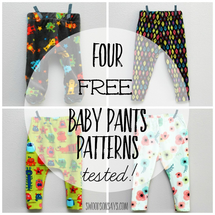 Baby Harem Pants Pattern - Pattern Design Inspiration