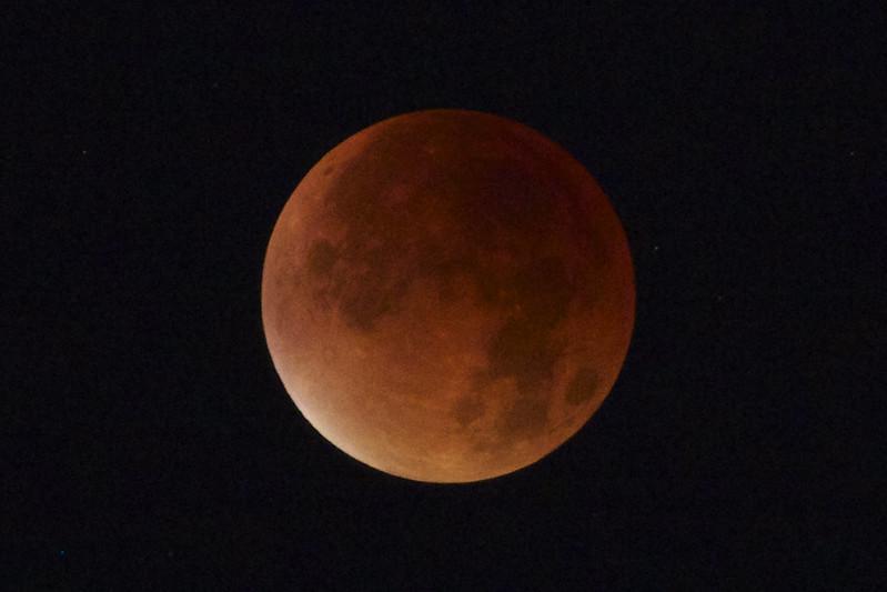 London Supermoon Eclipse
