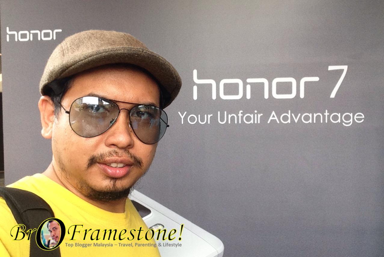 Honor 7 Dilancarkan di Malaysia pada harga RM1,399