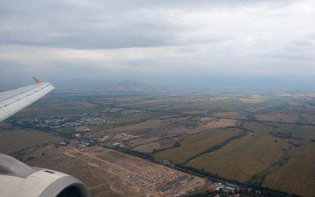 Landing in Almaty