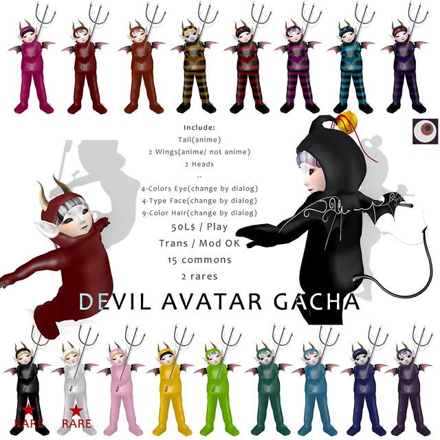 *NAMINOKE* DEVIL AV GACHA