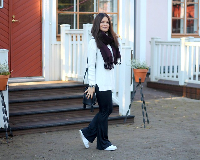 flare pant outfit