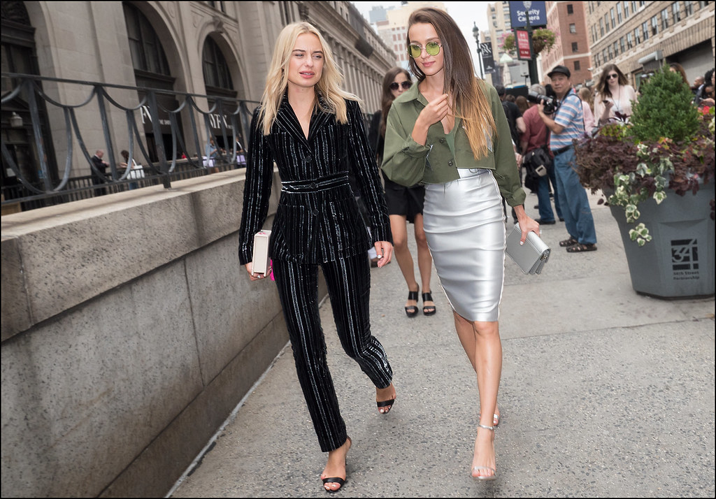 On West 33rd St NYFW 9-2015