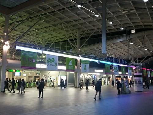 今日のポータル「JRさいたま新都心駅」 #INGRESS