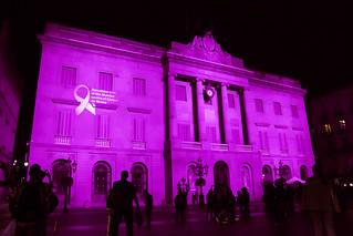 2015-Día Mundial Càncer de Mama, Ajuntament de Barcelona