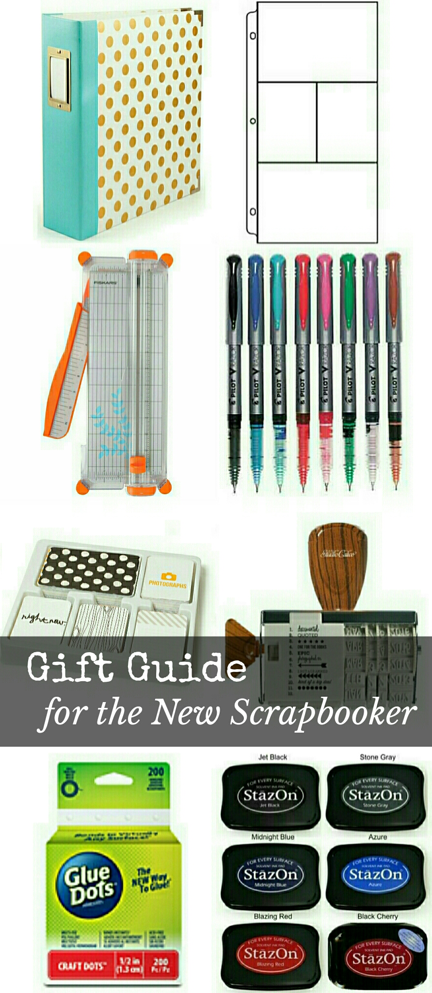 gift guide for the new scrapbooker