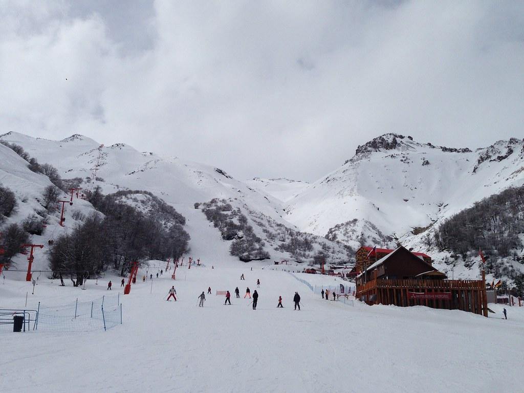 View of the Chillan ski area
